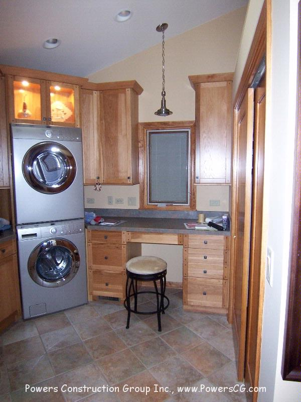 Powers construction group inc for How to add a laundry room to your house